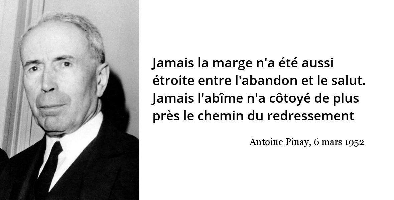 30 Decembre 1891 Naissance D Antoine Pinay Citations Historiques Citation Je Te Veux