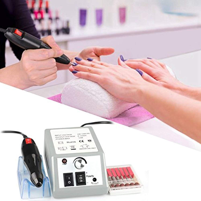 Professional Nail Drill Machine for Acrylic Nails Electric Nail File  Machine Nail Art Polisher Nail Drills Bits… | Nail drill machine, Nail drill,  Nail file machine