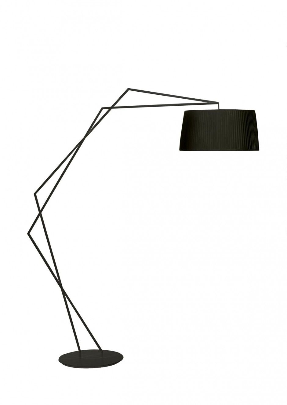 Minimalist House Okha Black Modern Table Lamp Lamp