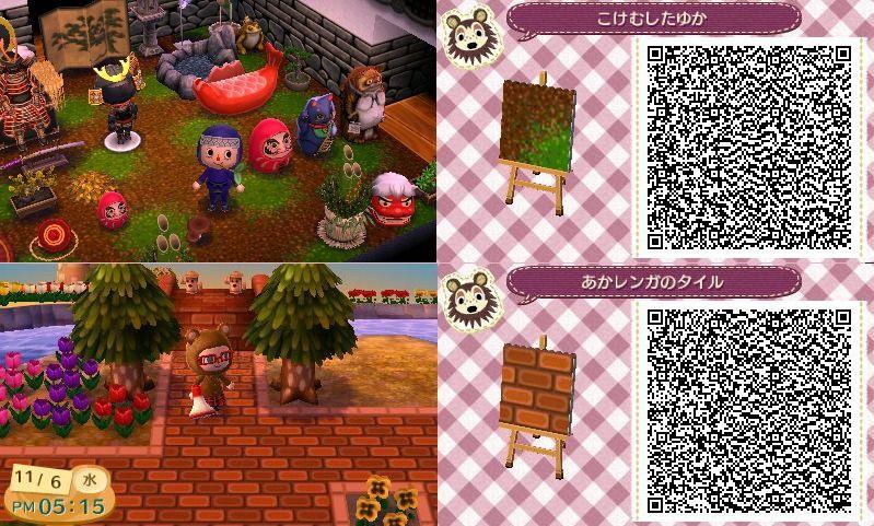 Brick Pattern Animal Crossing Qr Codes Animal Crossing Acnl Qr