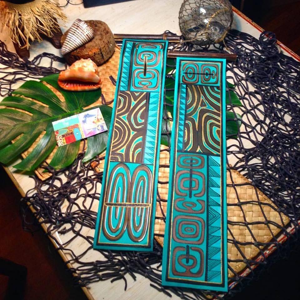 Inspiration Photo Tiki Hut: Turquoise Wood Panels In 2019