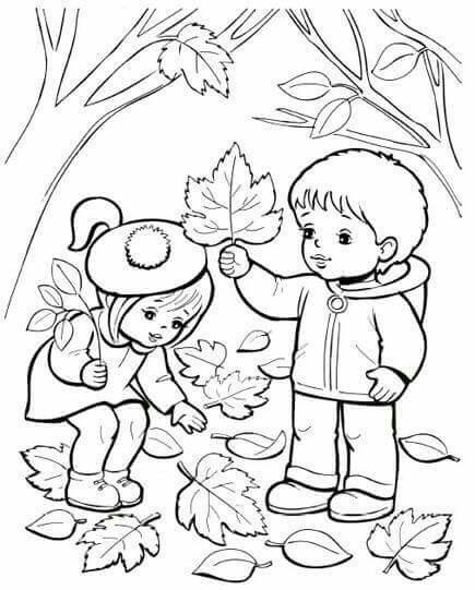Okul öncesi Boyama Fall Coloring Pages Coloring Pages For Kids