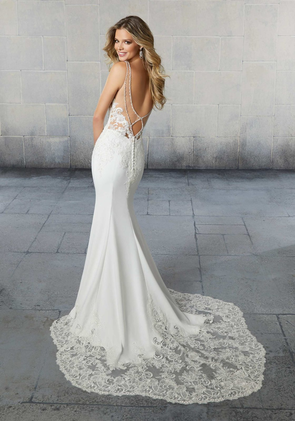 Shea Wedding Dress Morilee In 2020 Crepe Wedding Dress