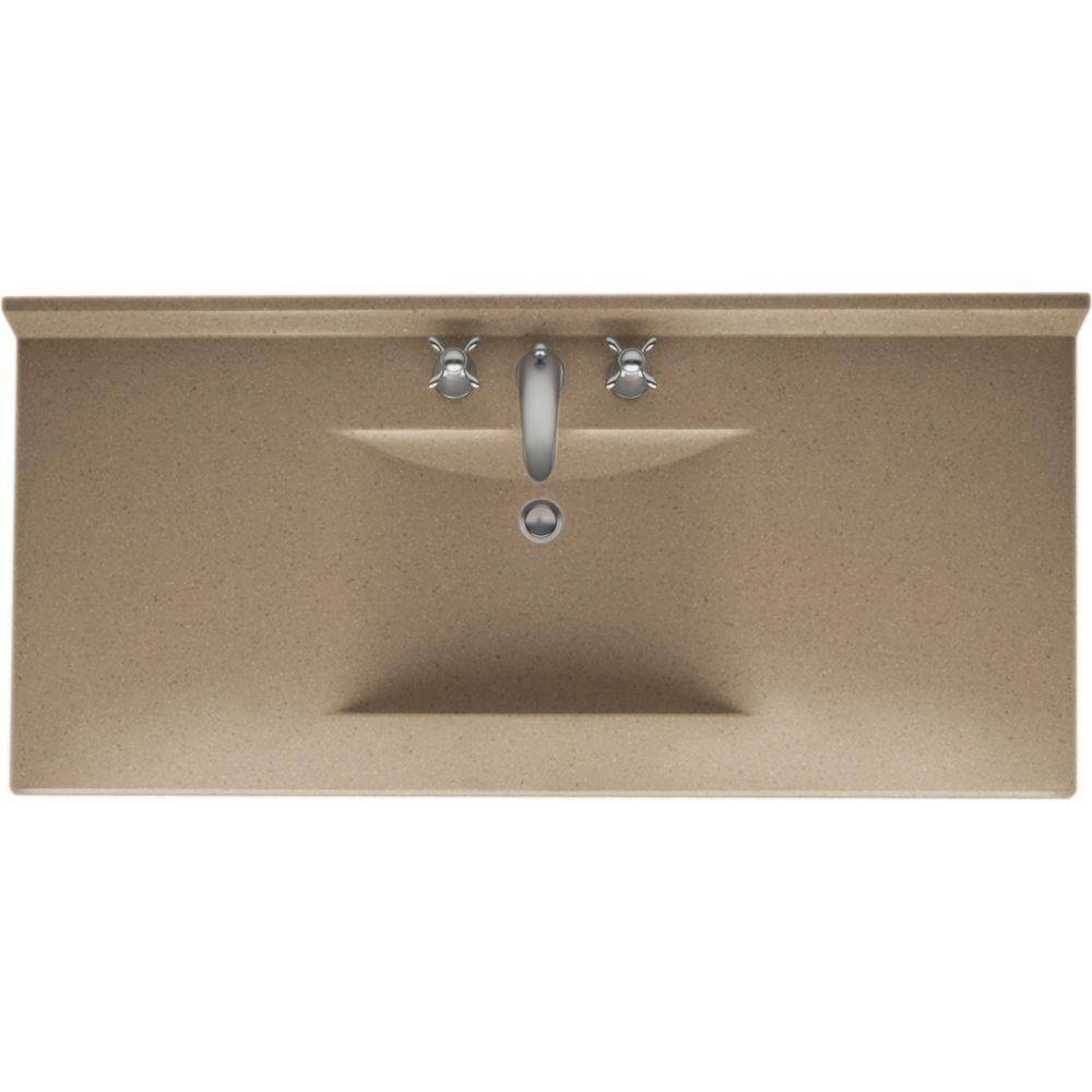 Swan Contour 49 In W X 22 In D X 10 1 4 In H Solid Surface