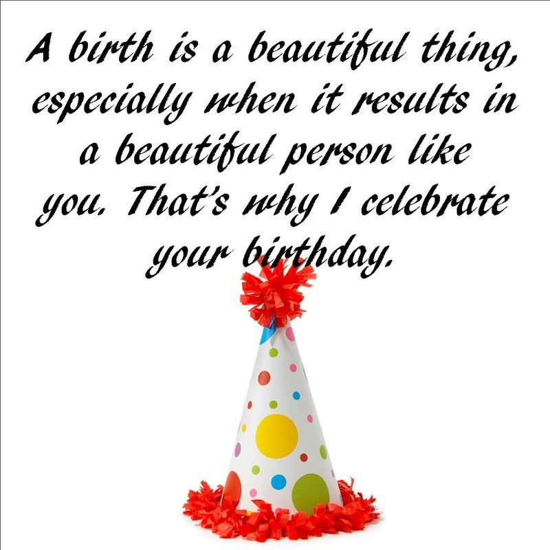Great examples of birthday messages, wishes, and quotes. #birthday ...