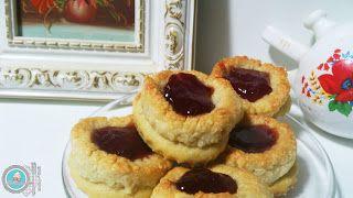 Las Recetas de Safaá: Dulces de eid al-fitr 3. Galletas coronadas de alm...