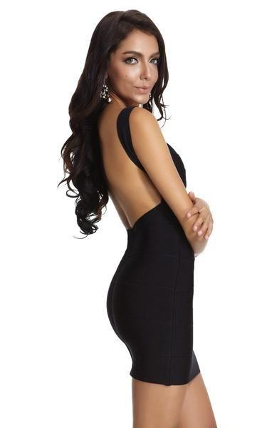 Serena Black Lattice Bandage Swimwear | The Kewl Shop