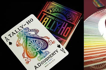 Spectrum Tally Ho Deck by US Playing Card Co. Trick by US Playing Card Co.