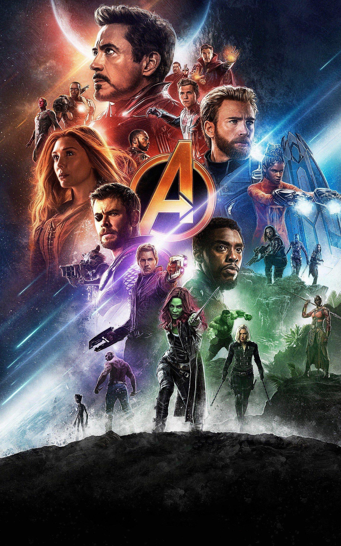 Avengers Infinity War Thanos Hulk iron man captain america spiderman Marvel Universe Avengers Movie Poster Wall Art Home Decor Print