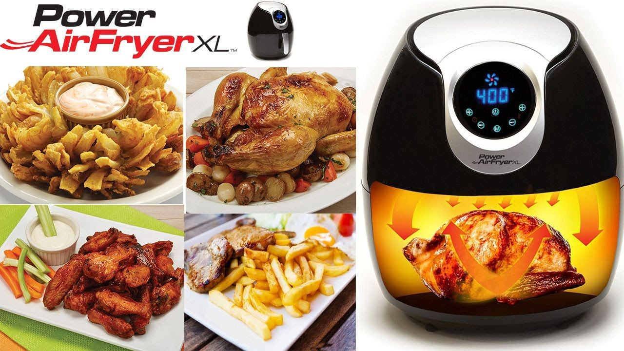 Power Airfryer XL Recipes Fish and Chips and Reviews Step