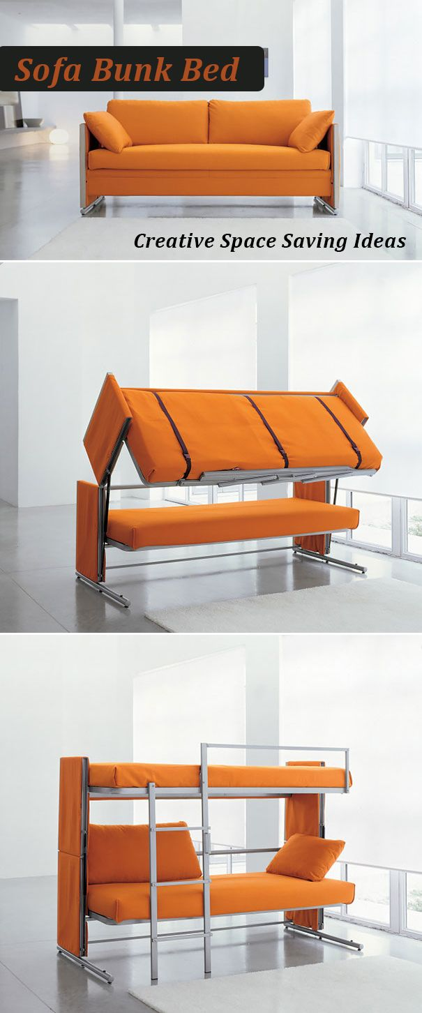 20 Creative And Clever Space Saving Ideas Sofa Bed Furniture
