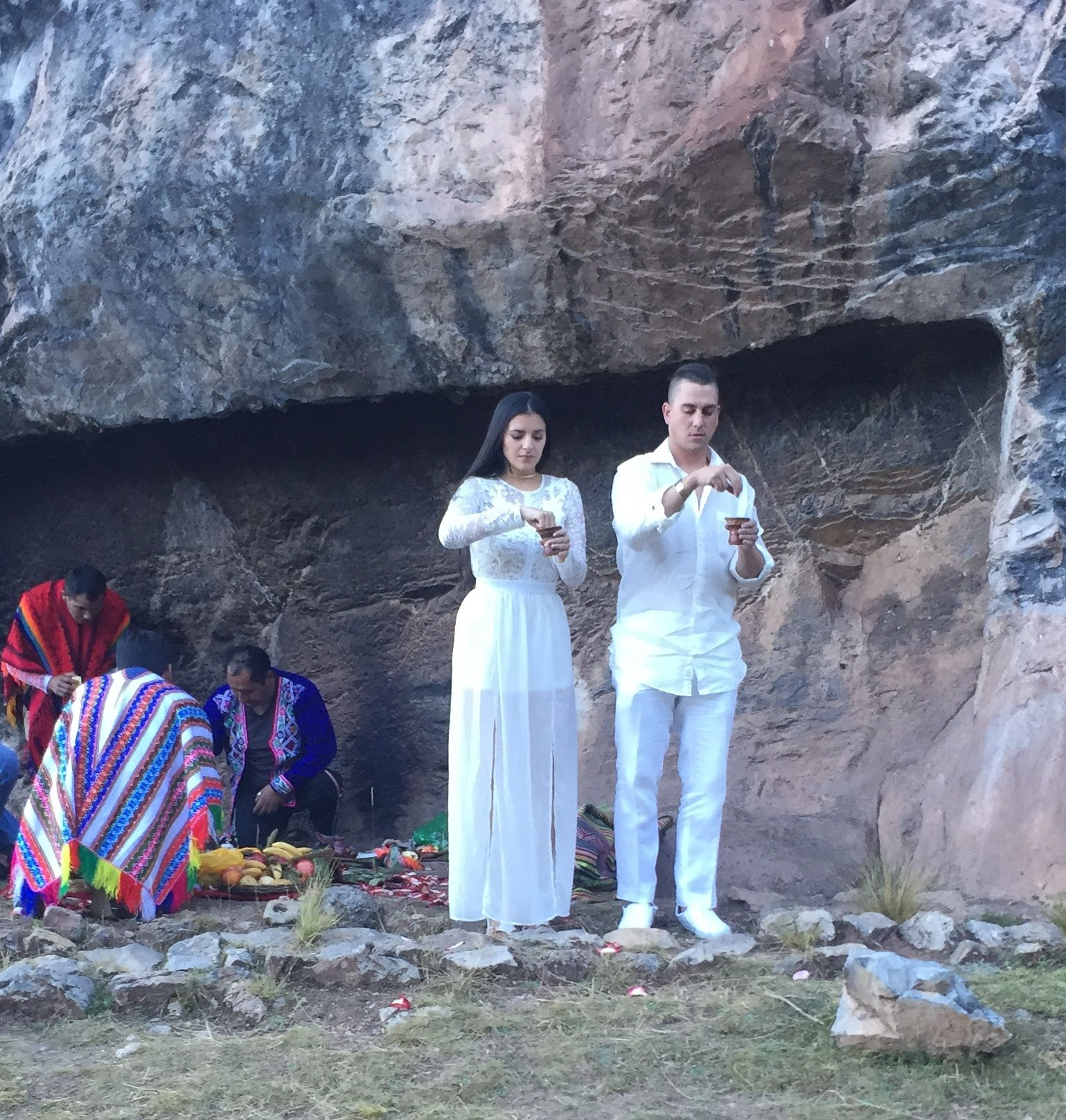 Adventure Wedding Ceremony Includes Sacred Coca Leaves And Chicha Beer On Your Way To Machu Picchu
