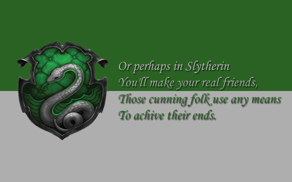 Slytherin Crest Quotes Wallpaper Wallpaper Slytherin