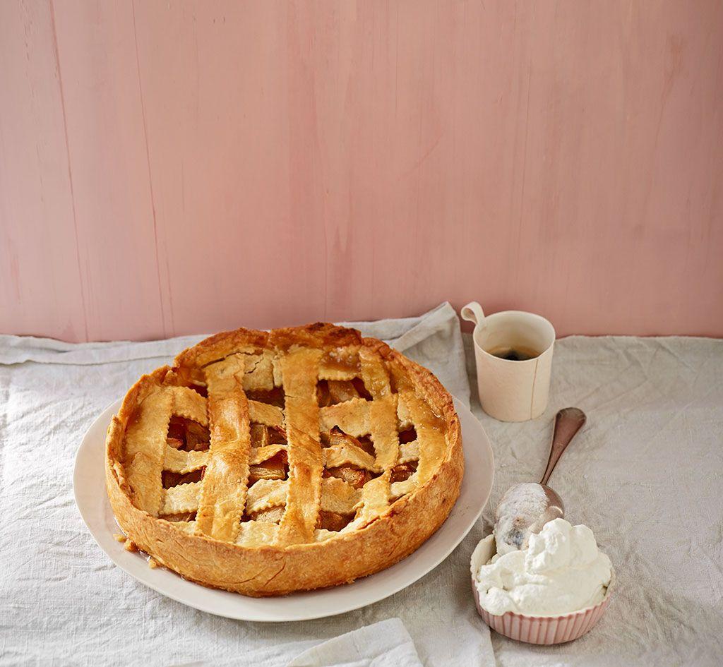 American Apple Pie | Rezept | Amerikanischer apfelkuchen ...