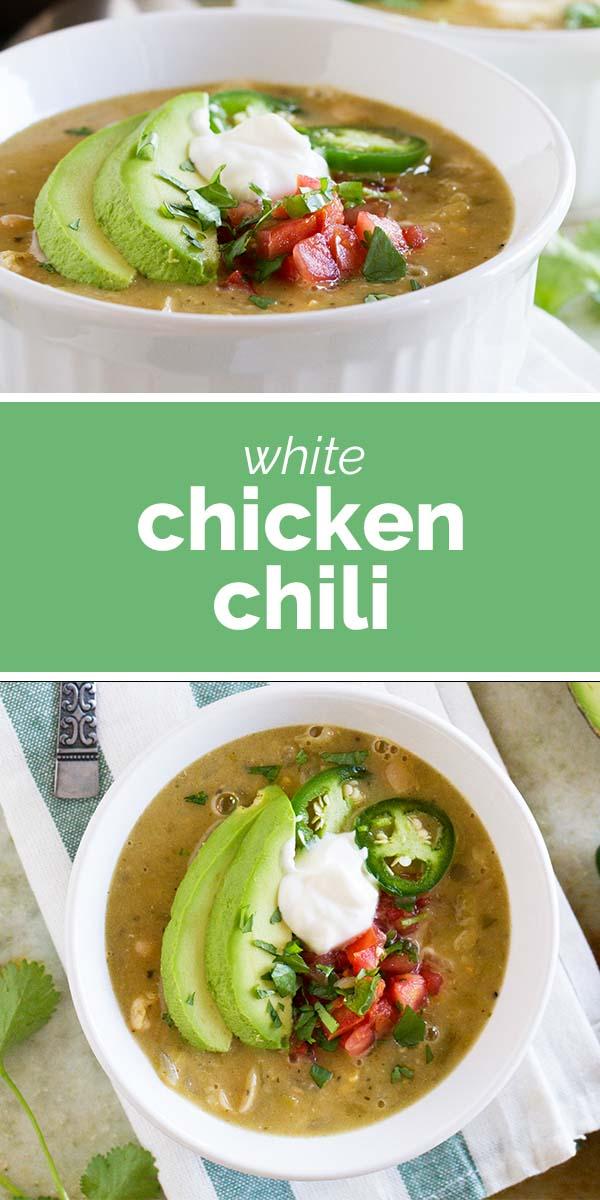 The Best White Chicken Chili Recipe Taste And Tell Recipe In 2021 White Chili Chicken Recipe White Chicken Chili Best White Chicken Chili Recipe