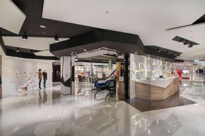 Shopping Mall Remodel By Taipei Base Design Center Tbdc Taichung City Taiwan Retail Design Blog Rental Furniture Furniture Iron Furniture