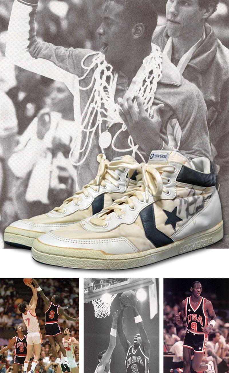 1984 Michael Jordan USA Olympic Team Gold Medal Game Used