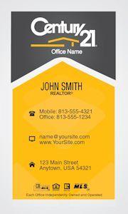 Grey and gold vertical century 21 business card idea century 21 grey and gold vertical century 21 business card idea colourmoves