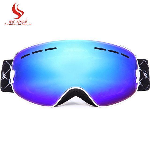 Children extra-large lens UV400 Anti-fog ski goggle for roller skate shoes for kids double lens snow goggle ski glasses eyewear