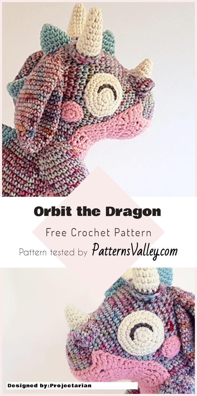 Amigurumi Orbit The Dragon - Free Crochet Pattern | Free crochet ...