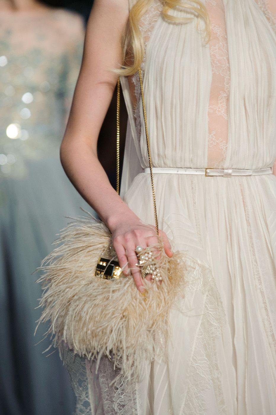 Elie Saab Haute Couture Spring Summer 2015 #details #handbag