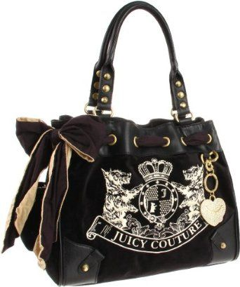 Juicy Couture Daydreamer Yhru2533 Tote Blue Azure One Size Clothing