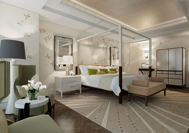 Hotel Chicago Suites The Langham Chicago Interiors Bedrooms Pinterest Chicago