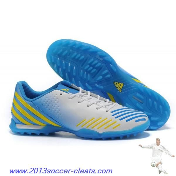 new style a5cf4 e080c Buy Adidas Predator Absolado LZ TRX TF White Blue Yellow For Wholesale