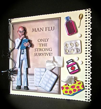 Card Gallery - Man Flu! Only The Strong Survive