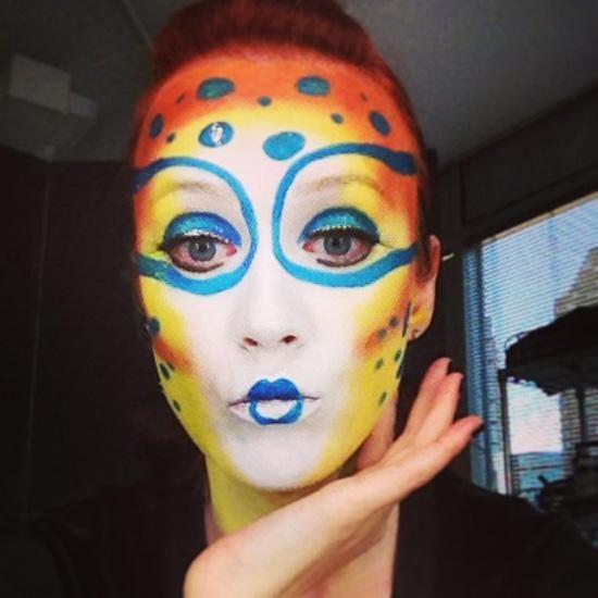Célèbre Cirque du Soleil Makeup Ideas images | maquillage enfants  DE71
