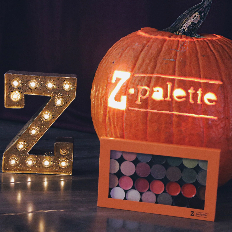 Happy Halloween  #zpalette #customizemakeup #diy #pumpkin #halloweenideas #ideas #halloween