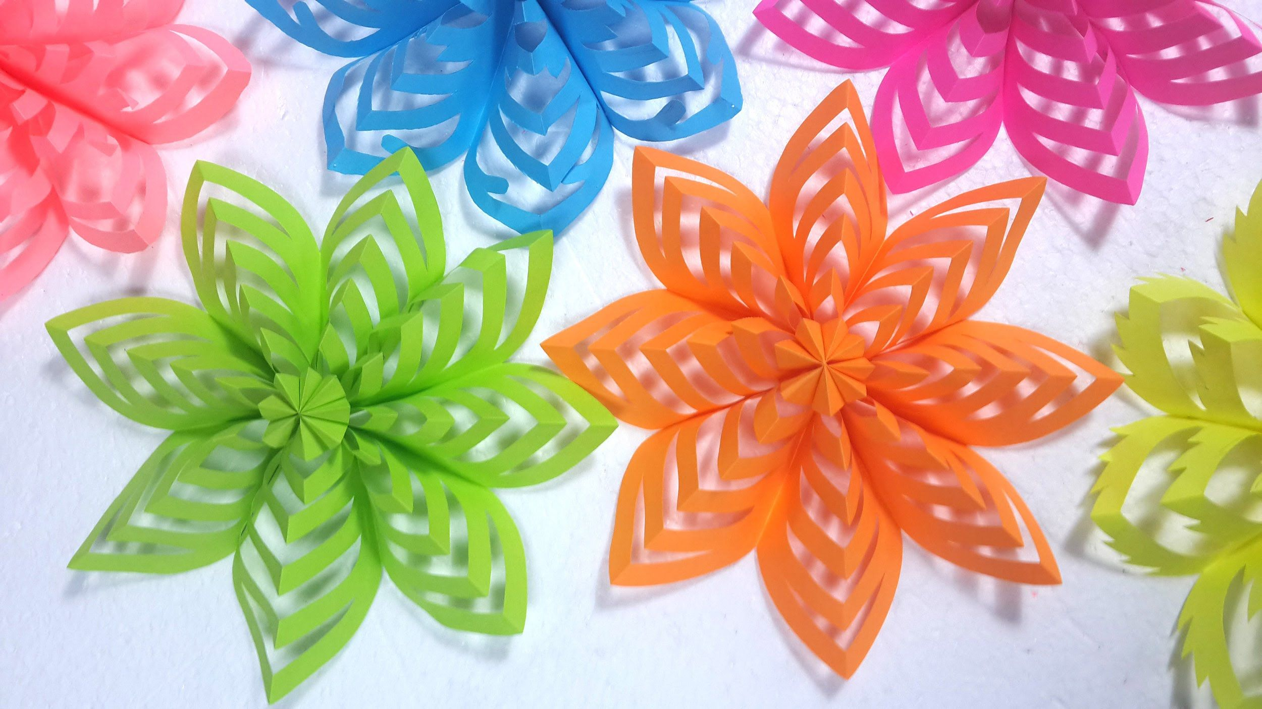 How to make colored paper 66