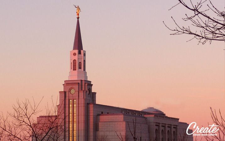 A video slideshow of LDS Temples with music and photos submitted by