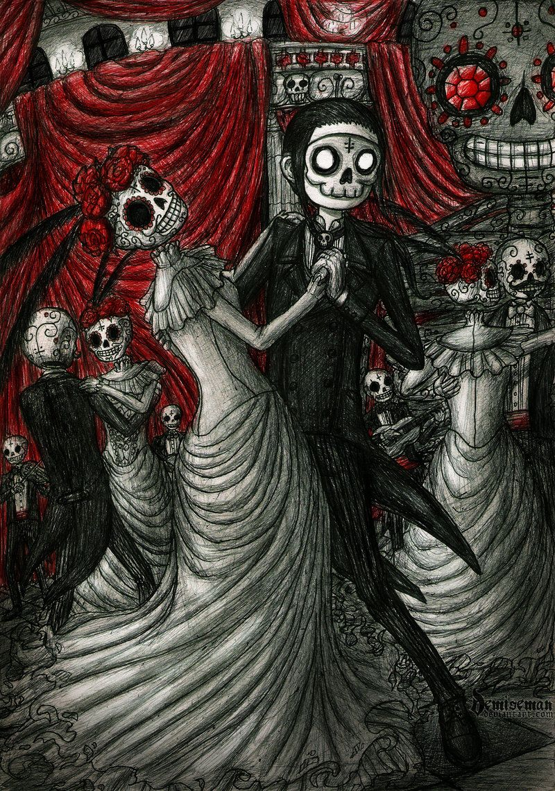 Dancing in day of the dead by demisemaniantart on dancing in day of the dead by demisemaniantart on deviantart dailygadgetfo Images
