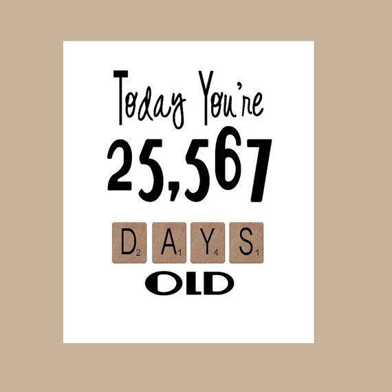Birthday Card Ideas 70th The Big 70 Age Milestone 1948 Funny