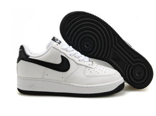 Pas Trop Cher Chaussures Nike Air Force 1 Low Premium - Noir Blanc - Femme  | Sneakers Kicks | Pinterest | Nike air force, Air force and Nike air force  low