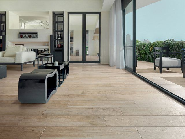 porcelain stoneware floor tile wood look home depot flooring installation costs