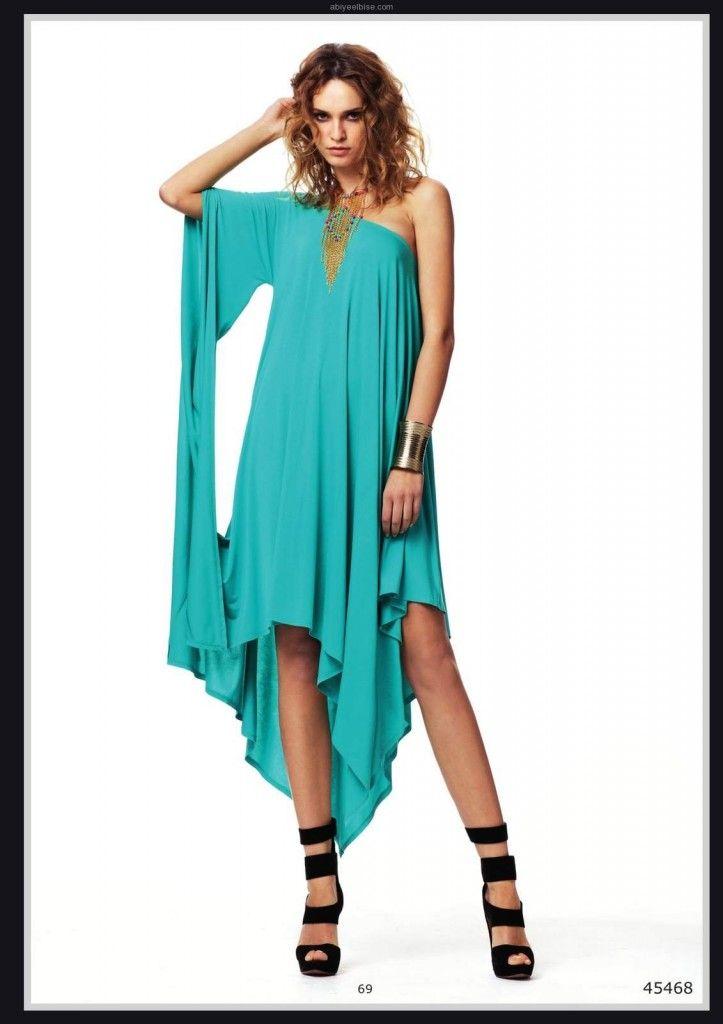 facee6d524d00 turkuaz gece kıyafeti modelleri y069 Lamazone 2012 yaz | Abiye ...