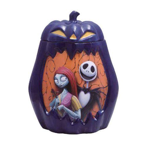 Nightmare Before Christmas Pumpkin Nightmare Cookie Jar - Westland