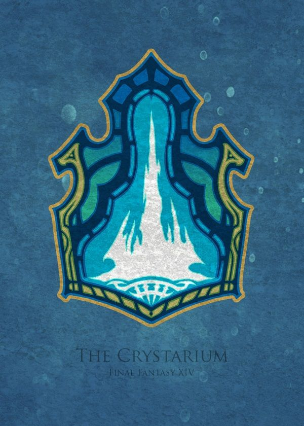 Final Fantasy XIV Flags Displate Posters