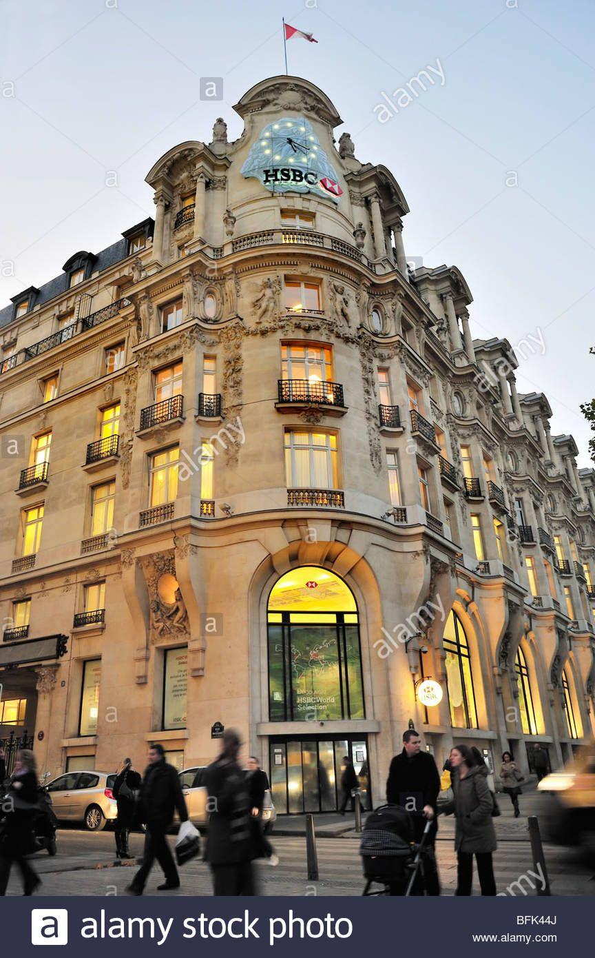 Paris, France, Commercial Architecture, HSBC Bank Corporate