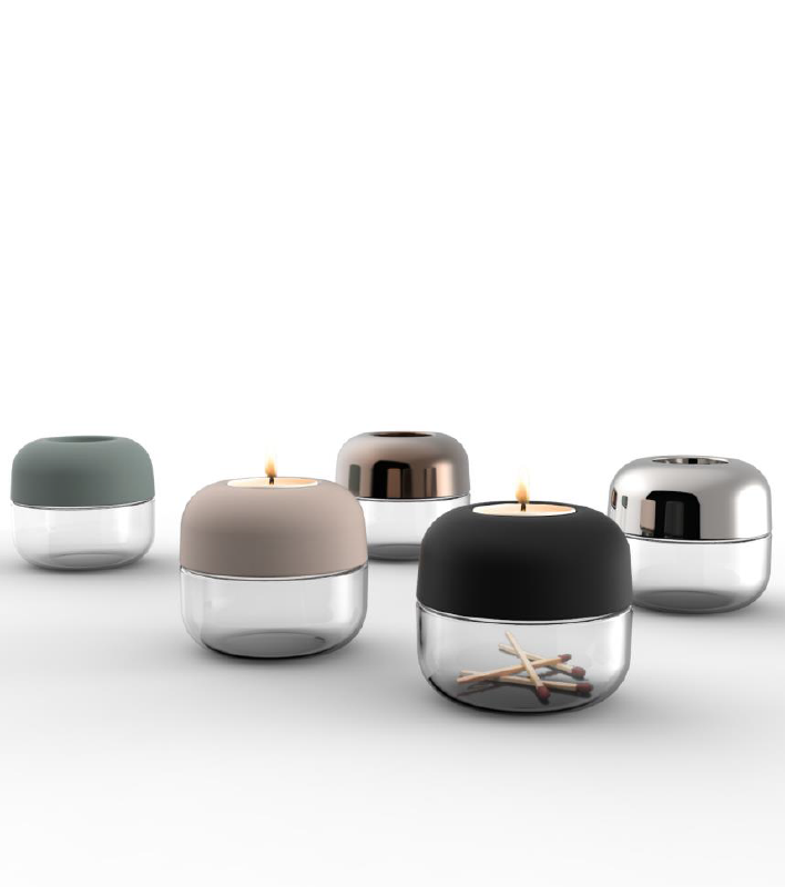Tealight candleholders designed by Norm, available here: http://www.lamaisondannag.com/fr/18-bougeoirs