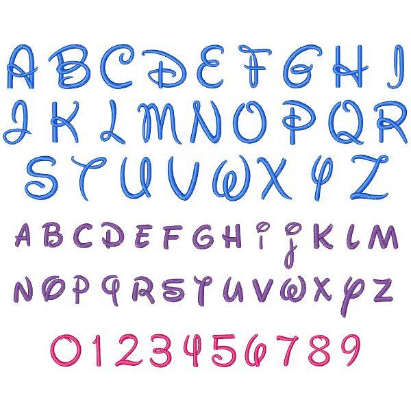 Walt Disney Font Set … | Pinteres…
