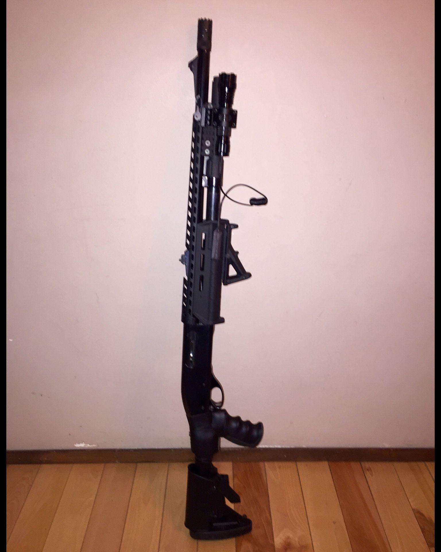 870 Tactical Build Remington 870 Wingmaster with 18  rifled Remington barrel breacher choke +2 magtube extension ATI heat shield Magpul M-LOK Forend ... & 870 Tactical Build Remington 870 Wingmaster with 18