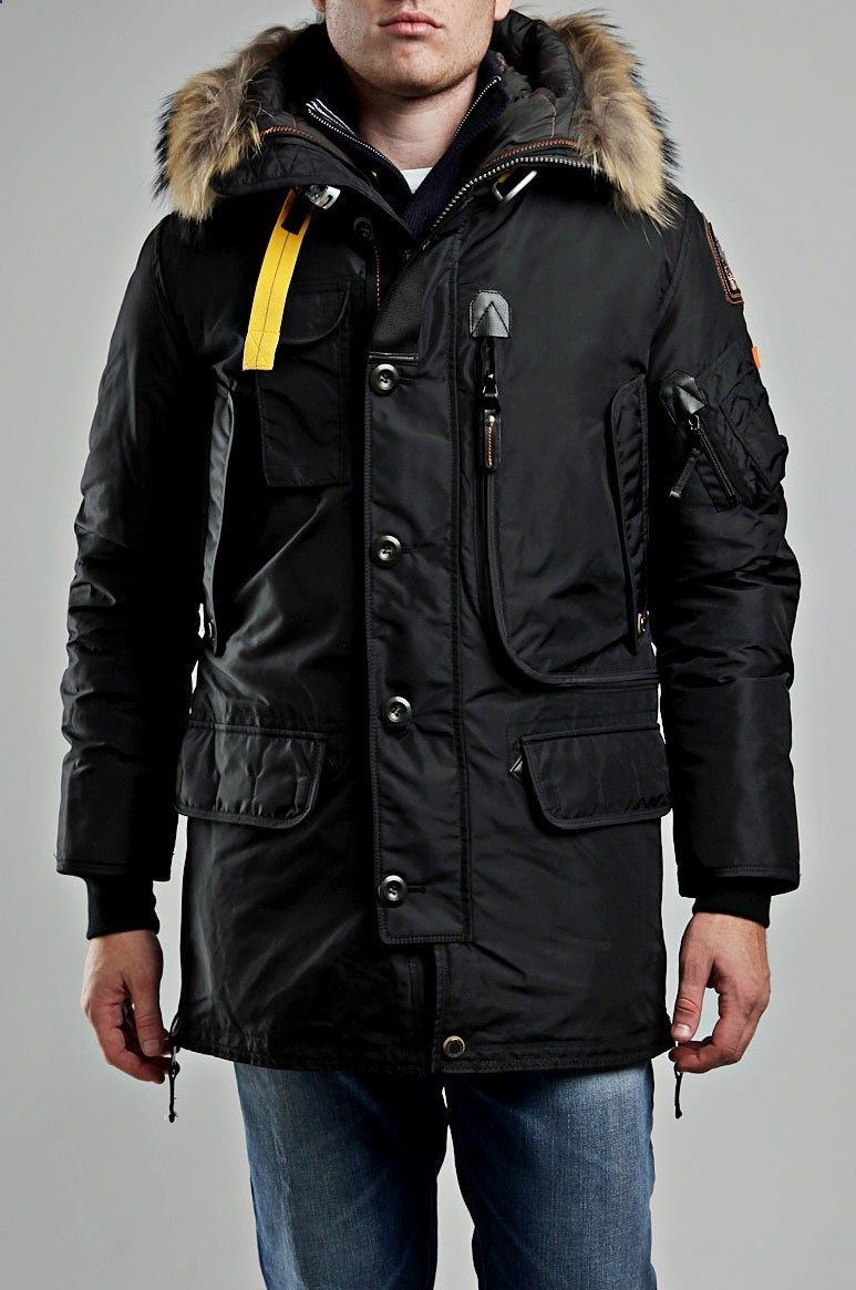 2688a2827 Parajumpers Kodiak Jacket Black Men | styling tips in 2019 | Winter ...