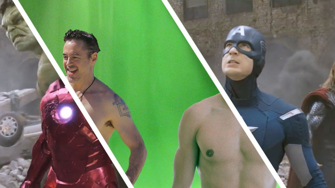 Amazing Before & After Hollywood VFX - Part 6 | Superheros | Movie