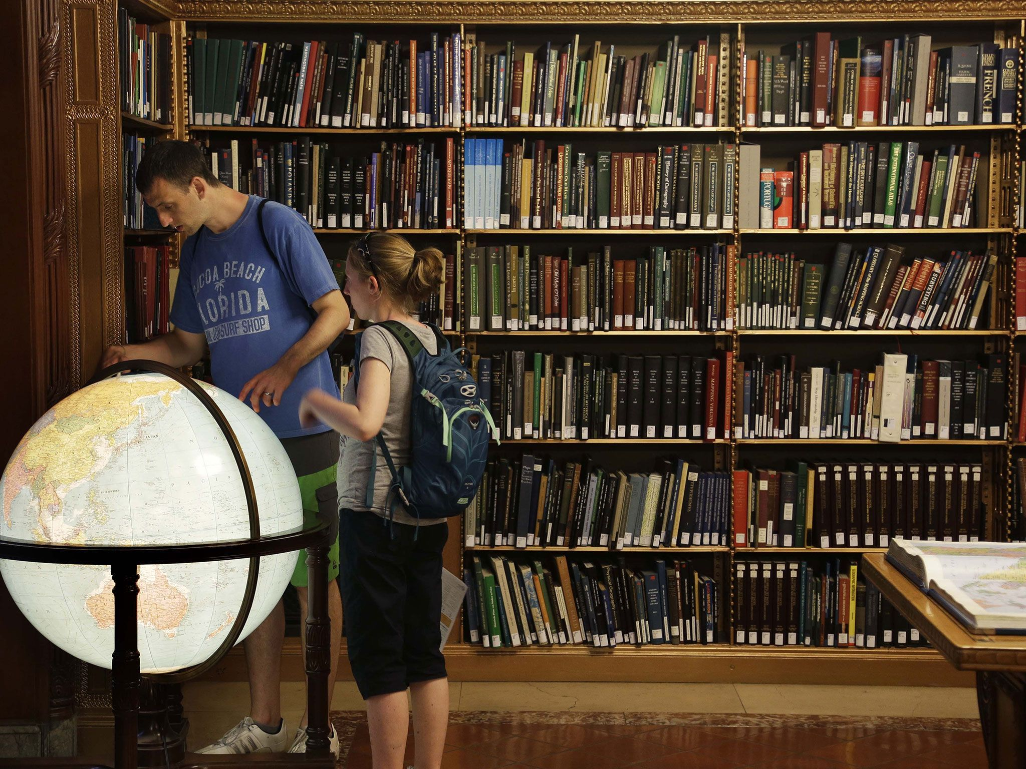 The library system received a $380,000 grant from the Knight Foundation to help with the extensive project.