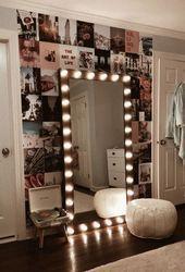 20 Kosmetikspiegel mit Lichtideen (DIY oder BUY) für Amour Makeup Room  Marys S…