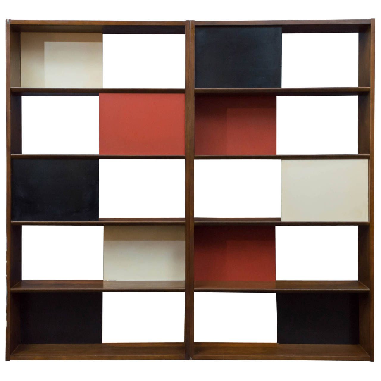 Modern room divider bookcase - Mid Century Modern Room Divider Bookcase By Evans Clark For Glenn For Some