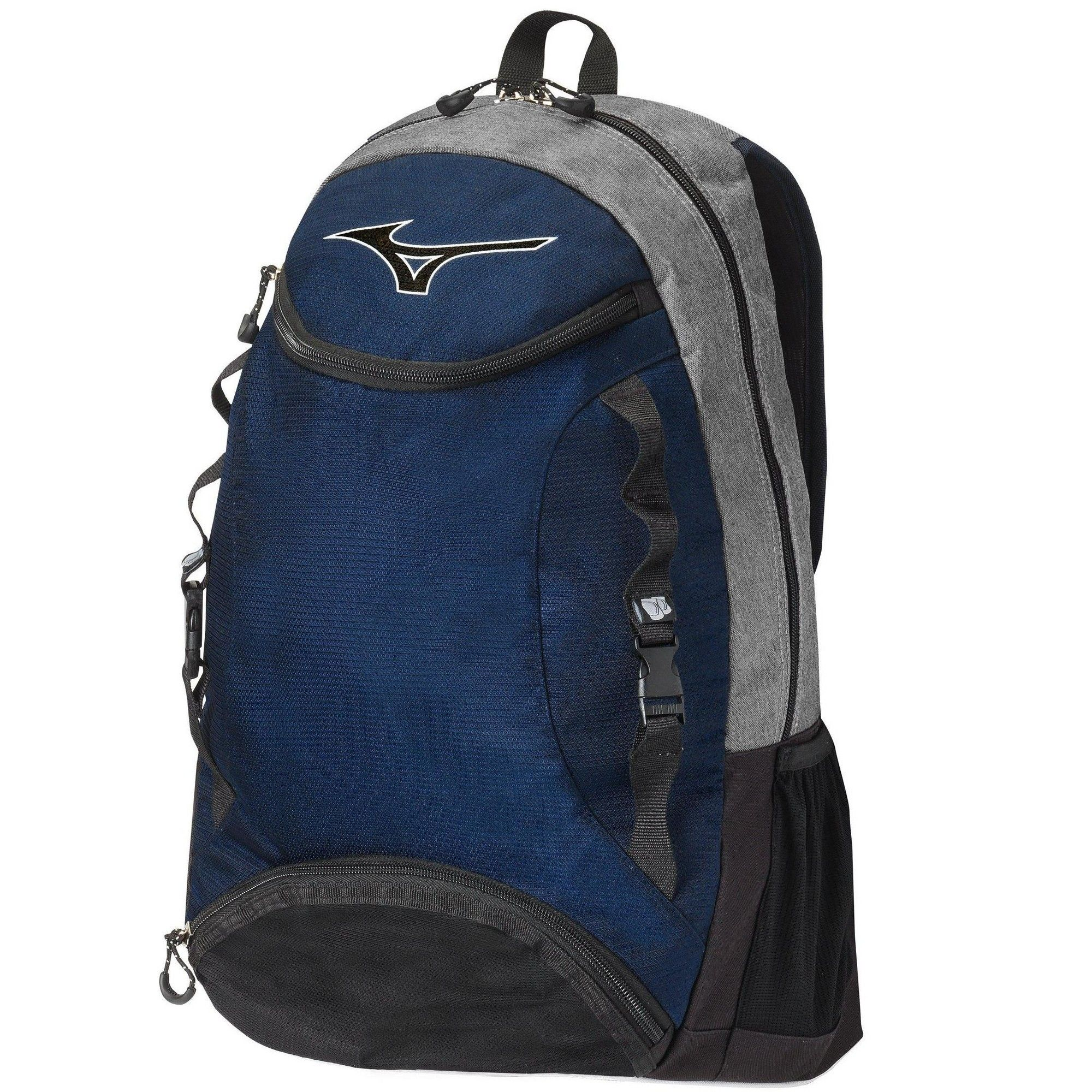 Mizuno Lightning Volleyball Backpack Size No Size In Color Grey Navy 9151 Backpacks Casual Backpack Backpack Reviews